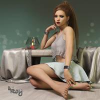 Sitting Around by Roy3D