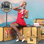 Jilted At The Bus Stop by Roy3D
