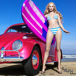 Let's Go Surfin' by Roy3D
