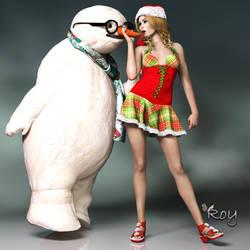 The Unlucky Snowman