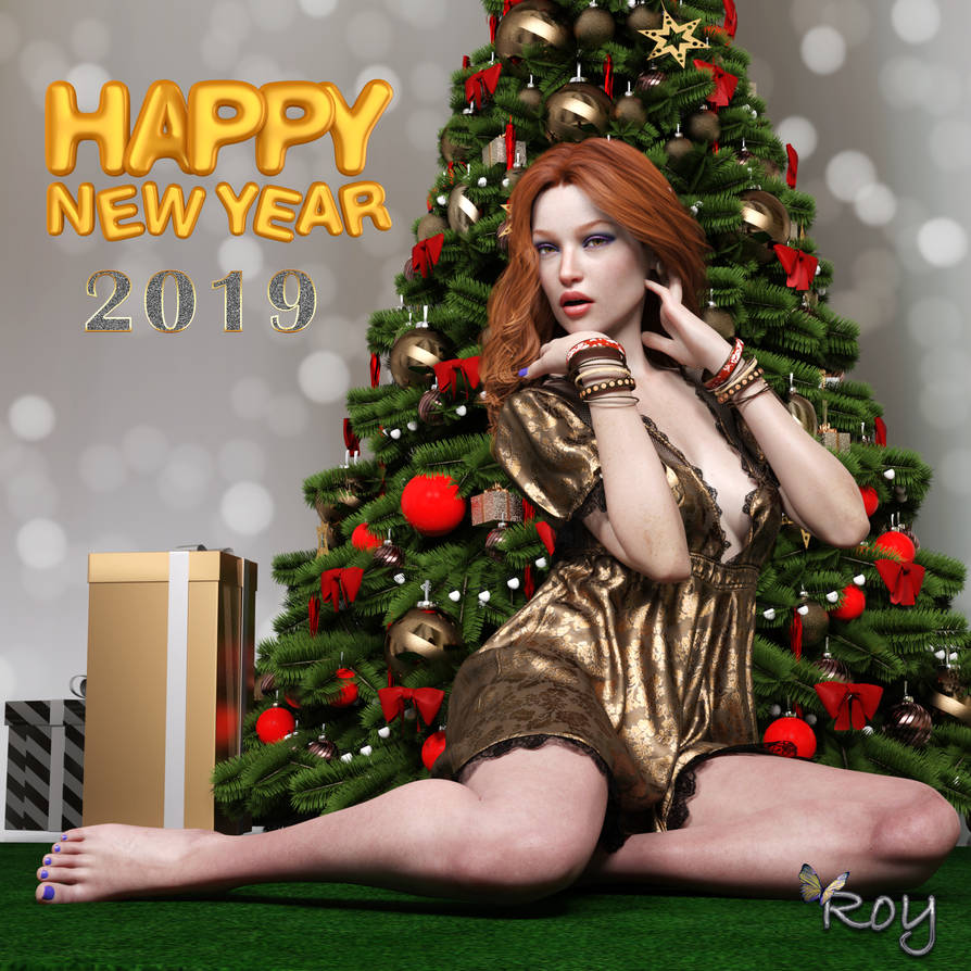 Gift Wrapped For The New Year! by Roy3D