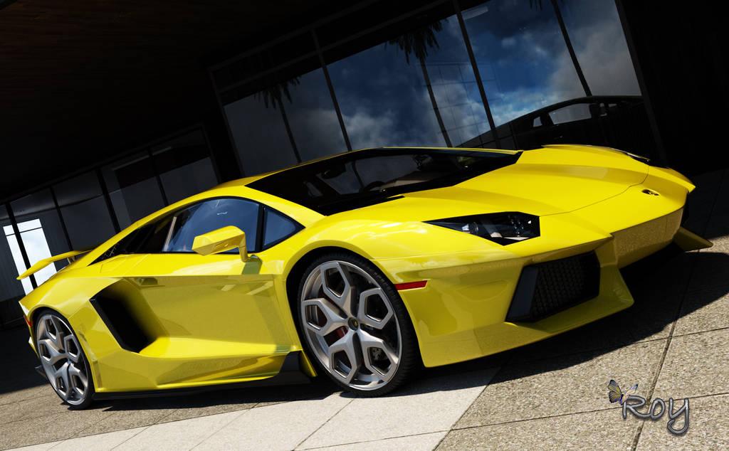 Lamborghini by Roy3D