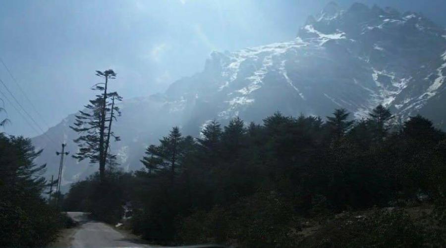 mountainous view by ArindamNaskar