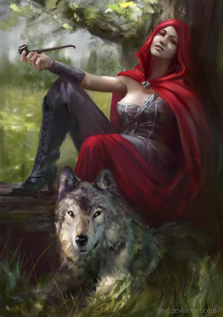 Red Riding Hood by ArvL on DeviantArt