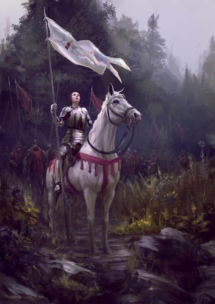 Jeanne d'Arc by ArvL