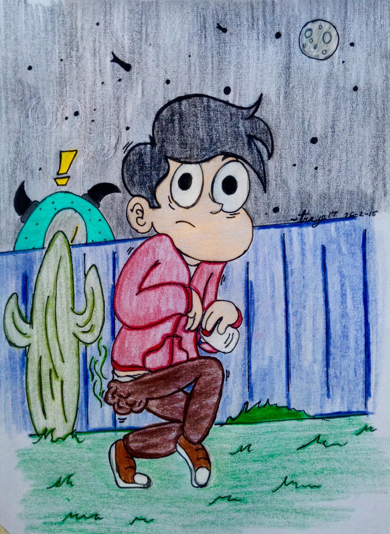 Request-? Marco wearing Diaper by Traje17