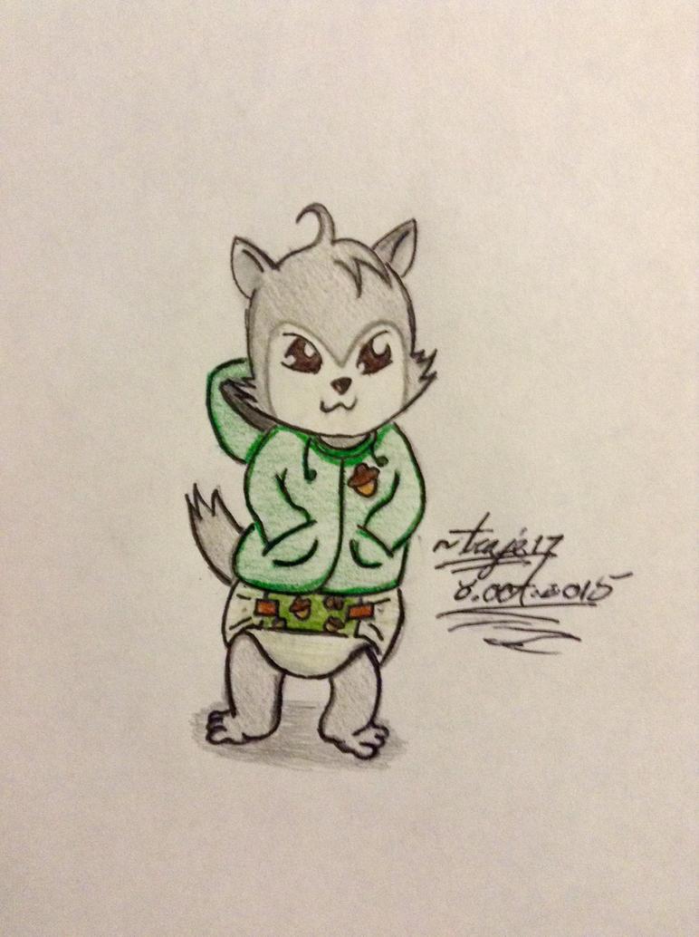 Request:Bokeol is Chipmunk boy by Traje17