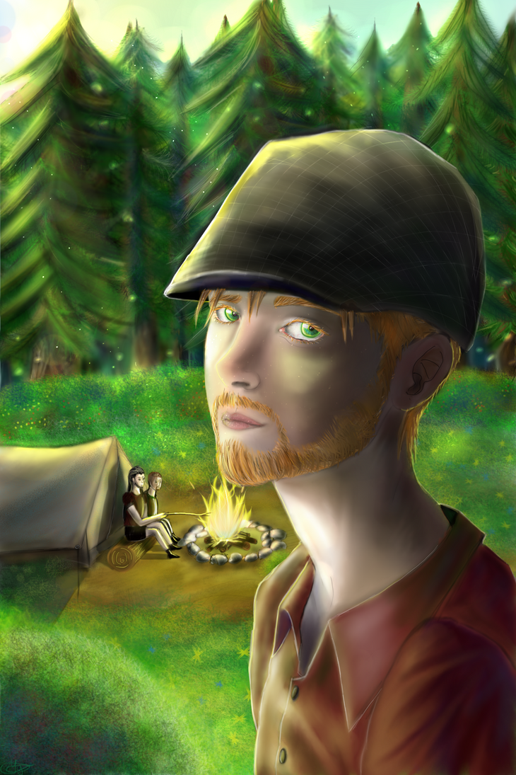In the woods by TwoFaceBatman83