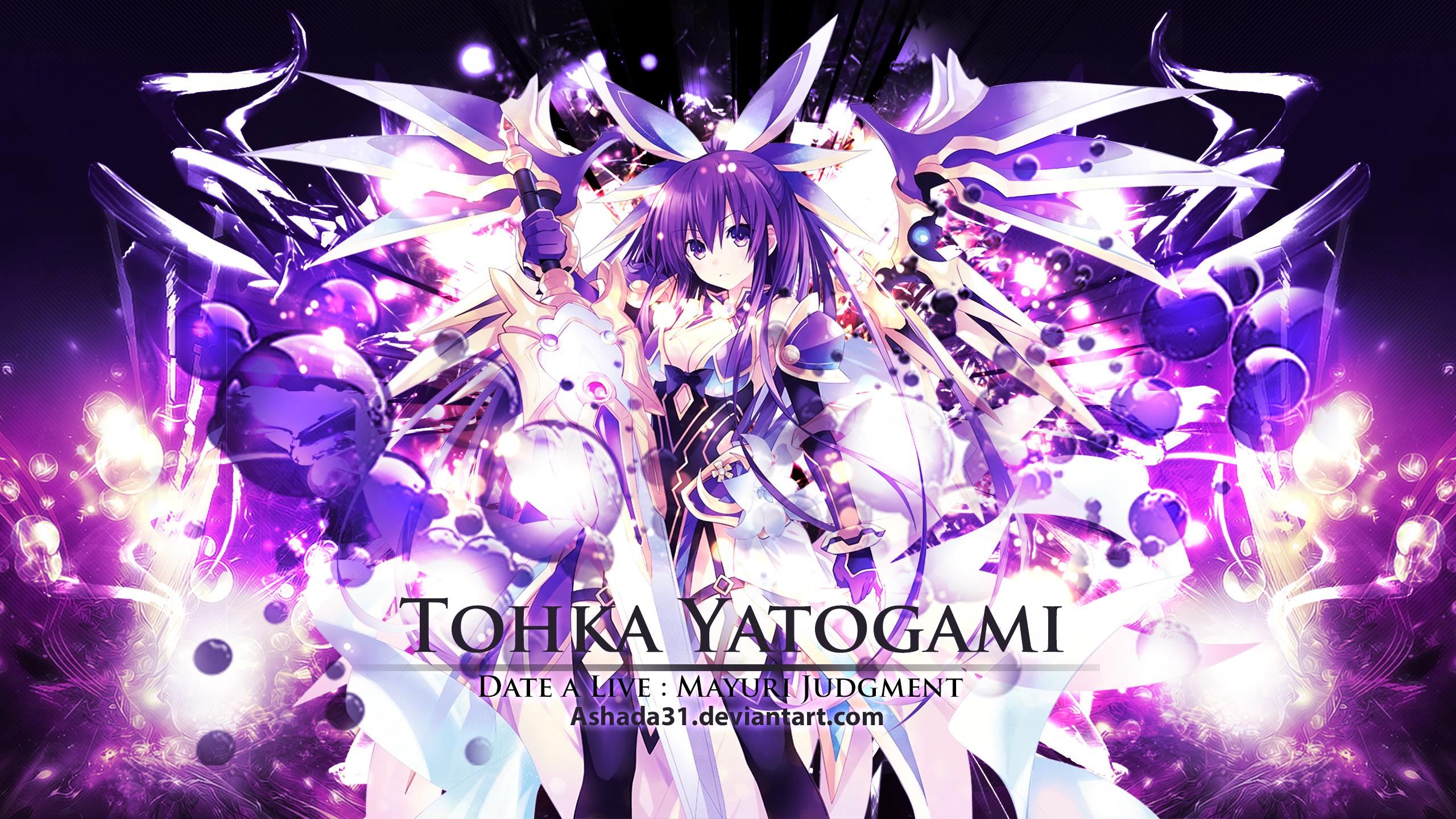 Date A Live Mayuri Judgment Tohka By Ashada31