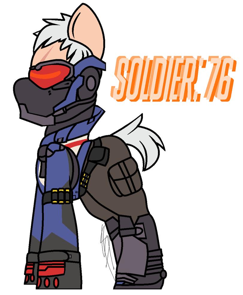 overwatch how to draw soldger 76