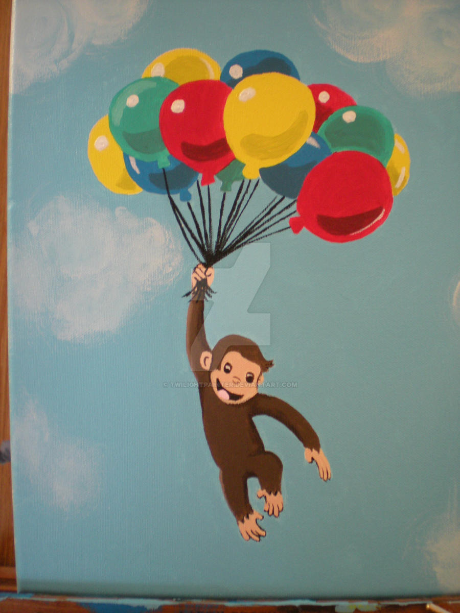 Curious George by Twilightpainter on DeviantArt