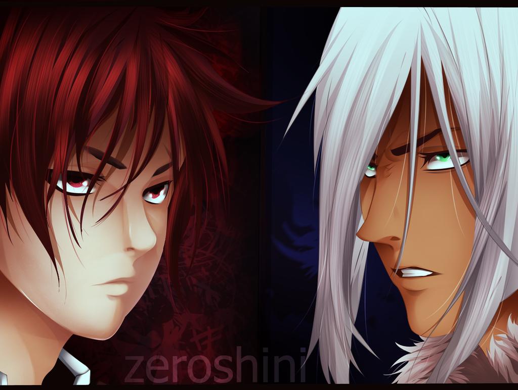 Akira Vs souma by Zeroshini
