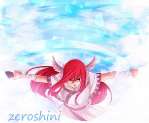 Erza Color by Zeroshini