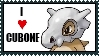 Cubone Stamp by TheMasterApprentice