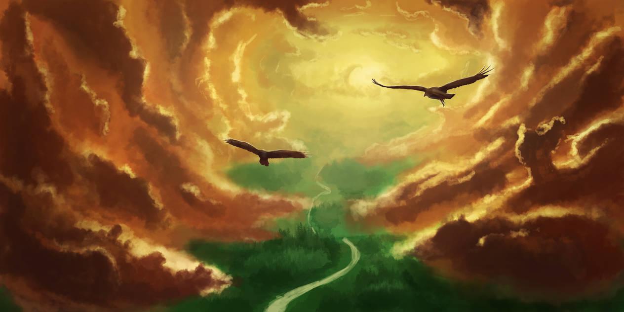 Serenity in the Sky