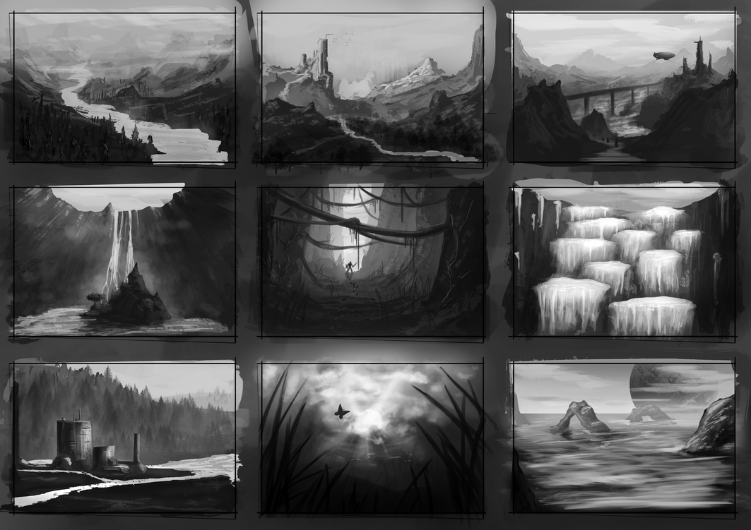 Environment Thumbnails 14 by GodZmc
