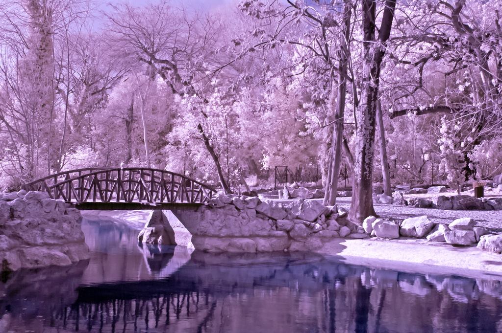 how to use infrared filter