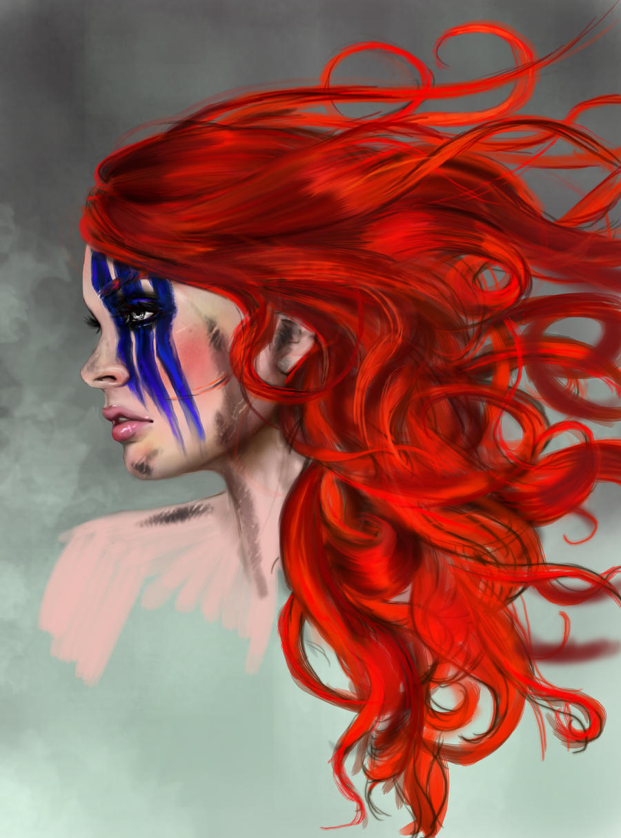 Ygritte - Game of Thrones WIP 2 by I-Andreea-I
