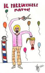 Il parrucchiere matto! by N3gazione