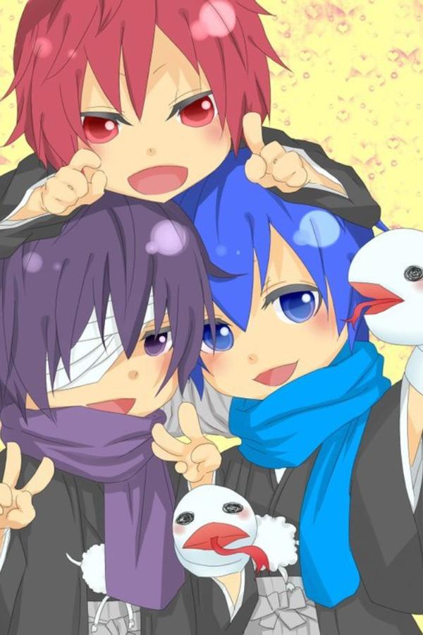 Akaito,Taito,and Kaito by G4kupoK4mui on DeviantArt
