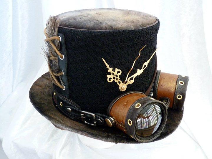 Steam punk hat with goggles. by Serata on DeviantArt