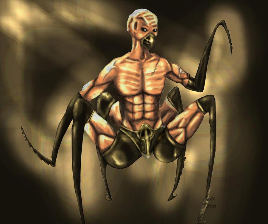 Spider human hybrid