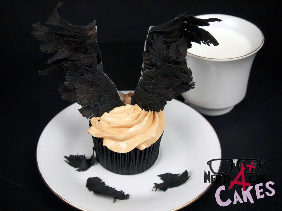 castiel cupcake by fangirlbakery on deviantart