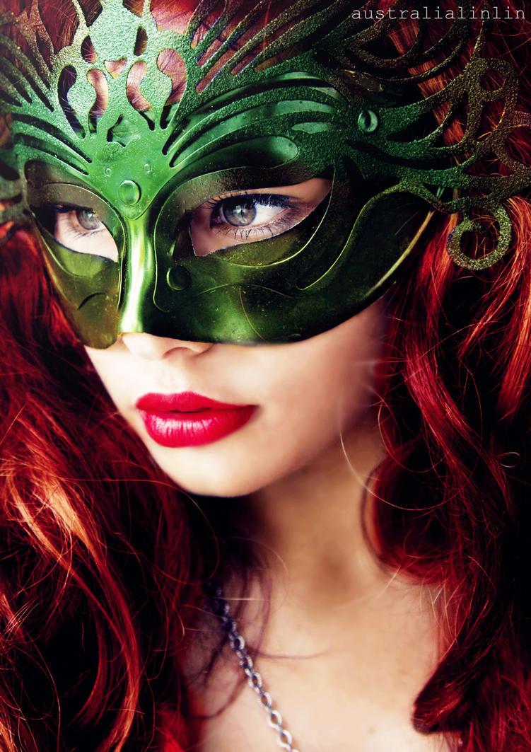 Emerald Masquerade. by australialinlin
