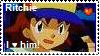 Ritchie Fan Stamp by Riolulu