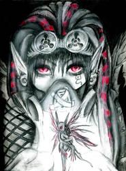 Cyber Goth Farie by Long-LIVE-Weirdos