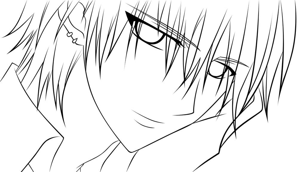vampire knight zero coloring pages - photo#22