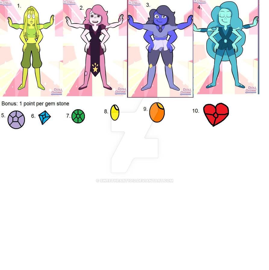 Crystal gems steven universe