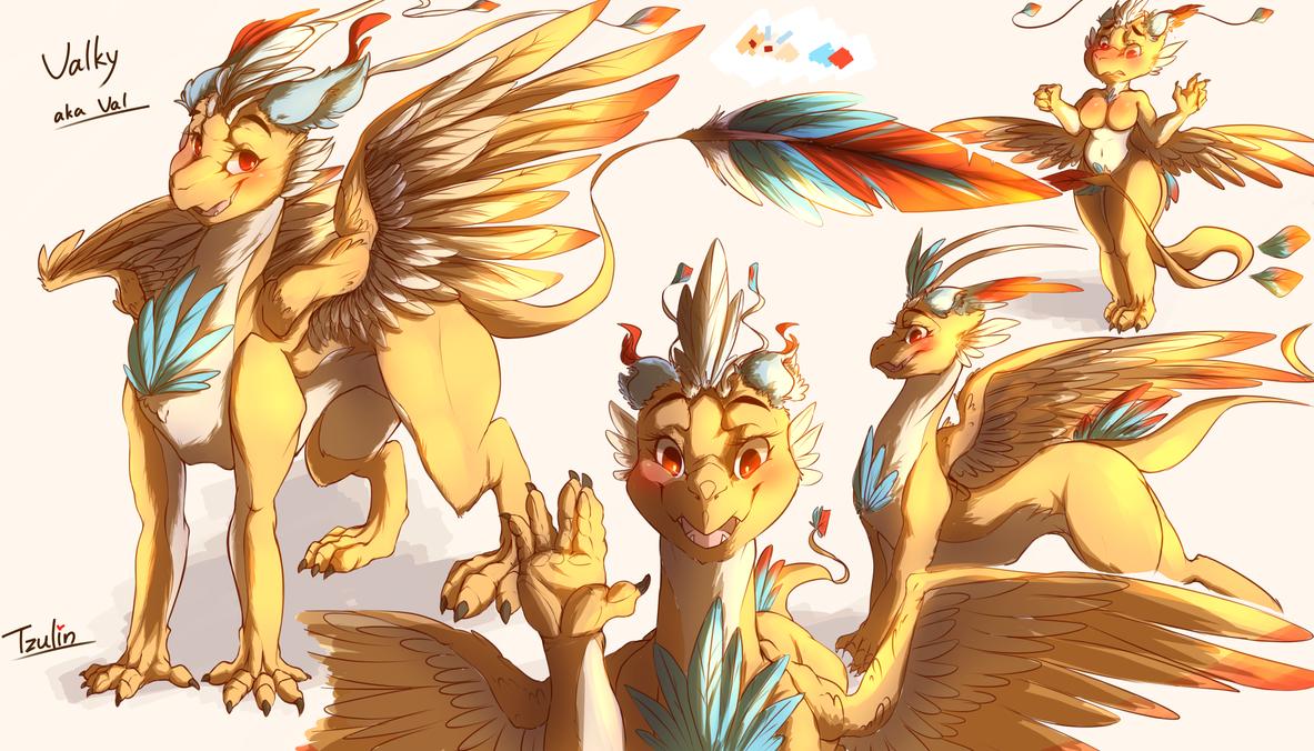 2016 Valky the dragon by YenTzuLin