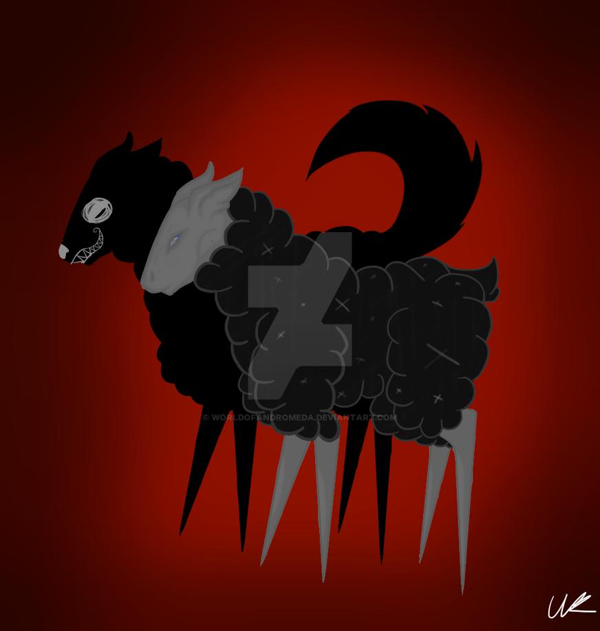 Wolf in sheeps clothing by WorldOfAndromeda