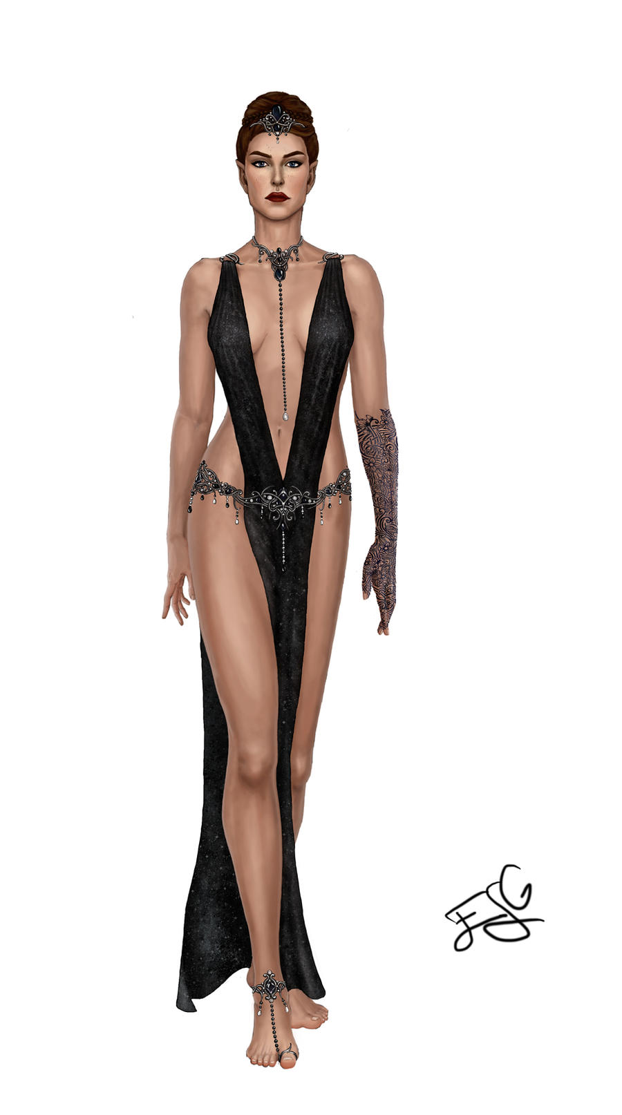 Court of Nightmares outfit by leywan