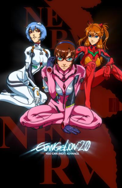 Evangelion: The Girls by artofJEPROX