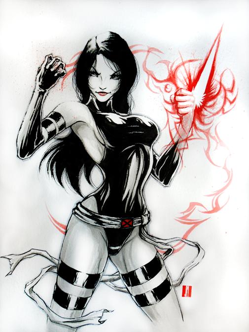 Psylocke by artofJEPROX