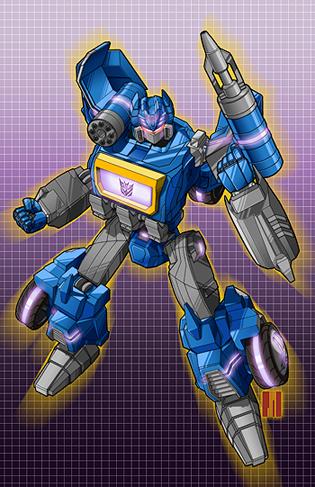 Soundwave: War for Cybertron by artofJEPROX