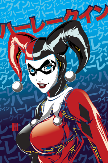 Harley Quinn Remixed by artofJEPROX