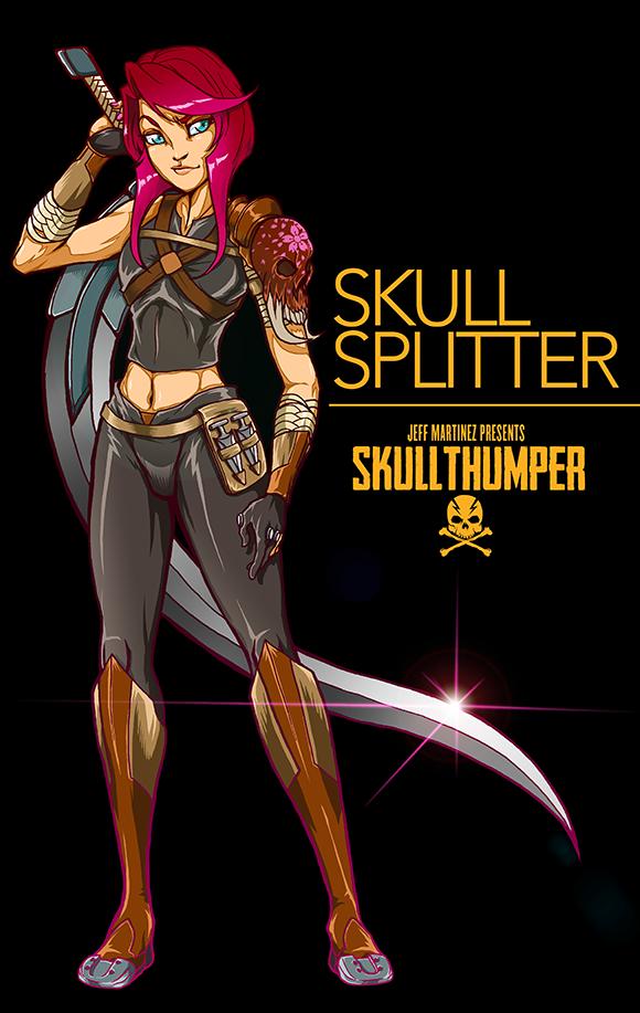 Skull Splitter by artofJEPROX