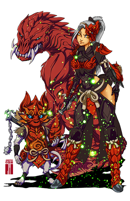 Monster Hunter World Odogaron By Artofjeprox On Deviantart