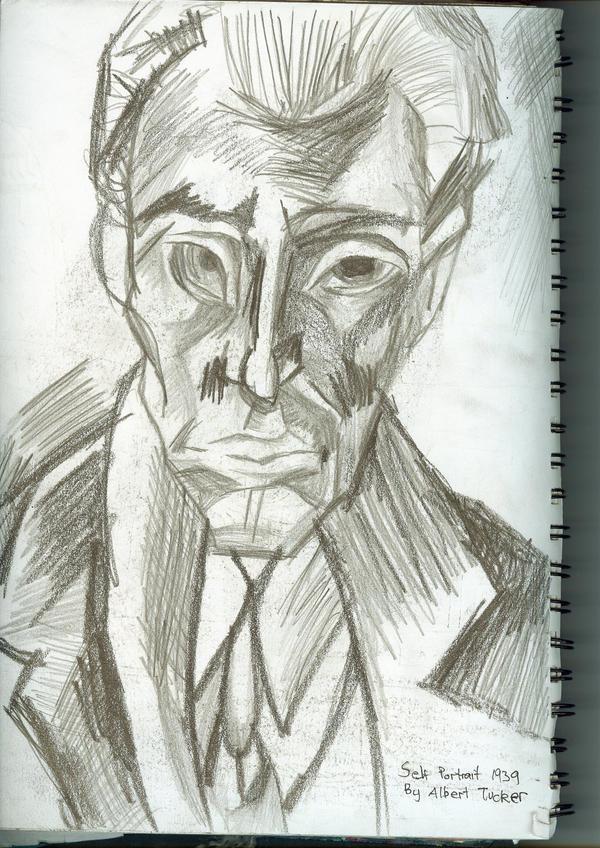 Albert Tucker Appropriation by puckatdeviantart