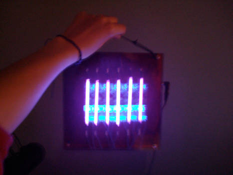 UV Cold Cathode Barcode