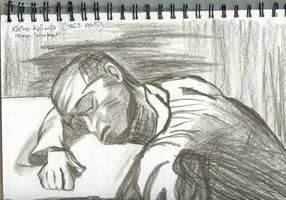 Sleeping in the study