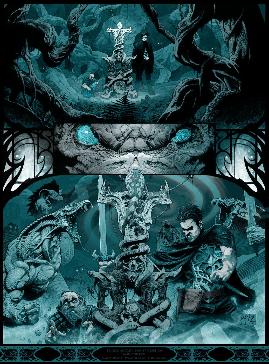 Snake Altar: Night version by andybrase