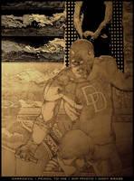 Daredevil cover: WIP photo by andybrase