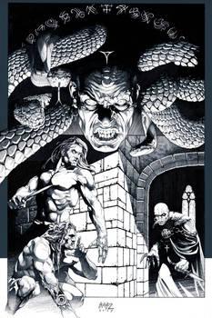Shadow of Serpents: Ink