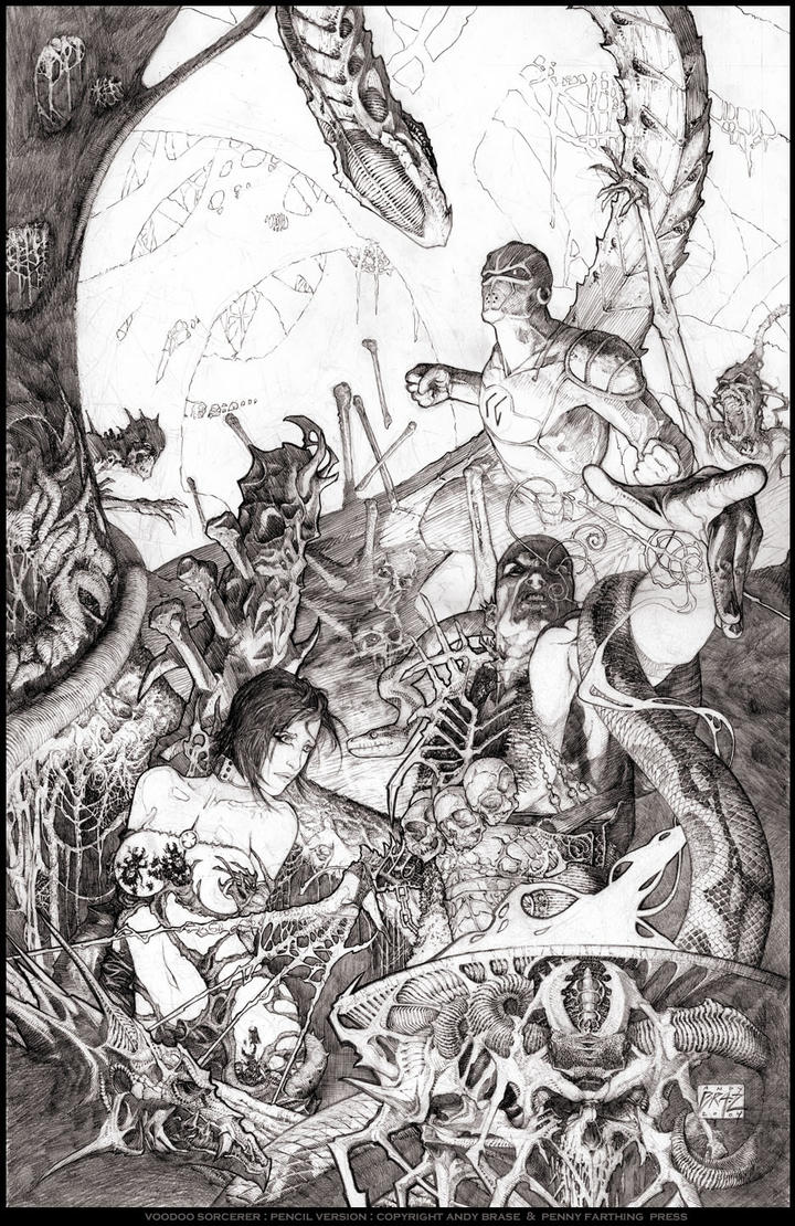 Voodoo Sorcerer by andybrase