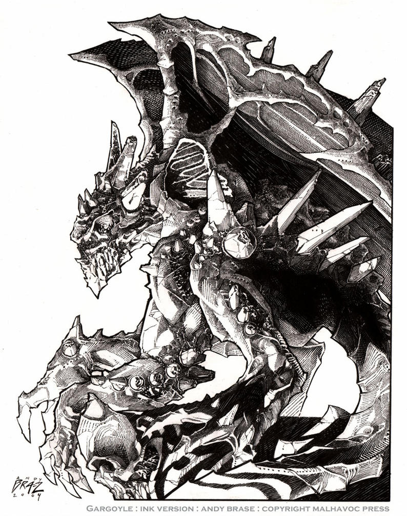 Gargoyle: Ink version by andybrase