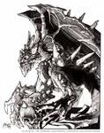 Gargoyle: Ink version
